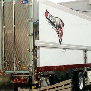 興正運輸トラック看板