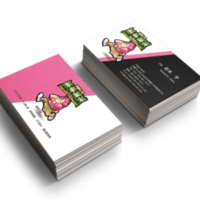 引越しの紙秀名刺デザイン
