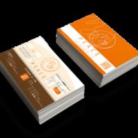 PEACEショップカードデザイン